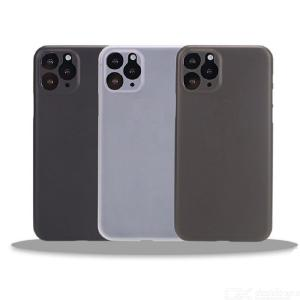 Egeedigi 0.3mm Ultra Thin Translucent Matte Phone Case For iPhone X XR Xs 11 Pro Max 6 6s 7 8 Plus Slim Frosted Hard PC Cover
