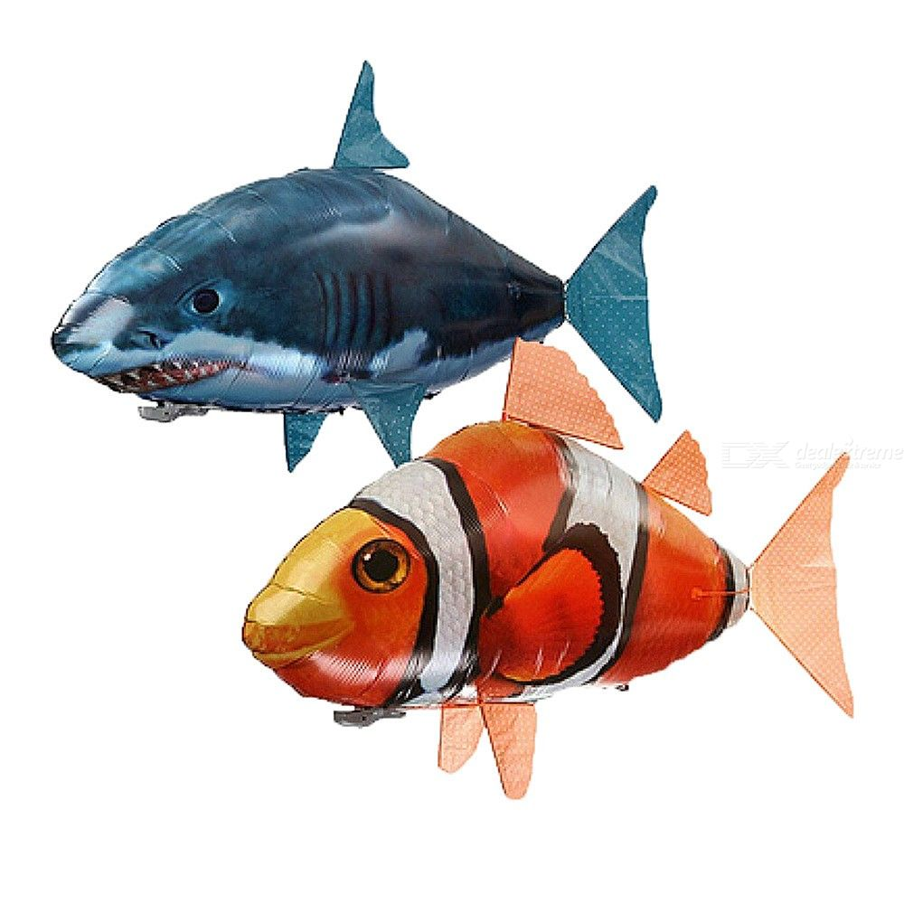 Decoration | Infrared | Balloon | Control | Animal | Remote | Shark | Party | Fish | Gift | Swim | Air | Toy