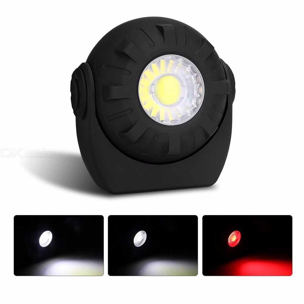 Multifunctional Work Lamp 180 Degree Adjustable Emergency Light with Magnet for Outdoor
