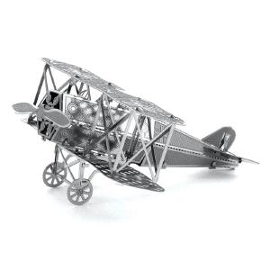 DIY 3D Fokker D-V11 Metal Jigsaw Fighter Plane Mini Building Block Puzzle Model Toy