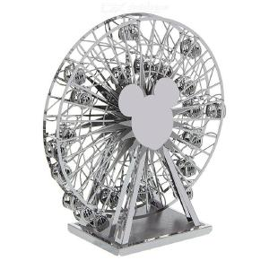 DIY 3D Ferris Wheel Metal Jigsaw Building Block Puzzle Model Toy