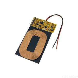 DIY Wireless Charging Module QI Standard Wireless Charger Receiver Module PCBA Circuit Board with Coil Charger Module