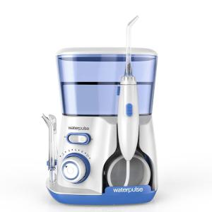 V300 Water Flooser Electric Oral Irrigator For Teeth With 800ML Water Tank 10 Settings 5 Attachments
