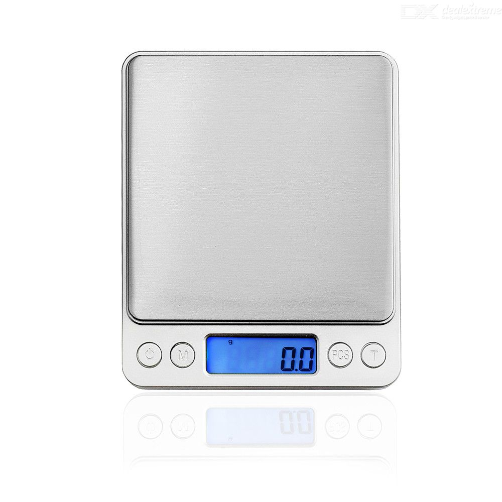 Double Tray 500g / 0.01g High Precision Electronic Scale Weighing Tools