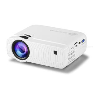 YJ333 HD Projector 1400Lux Video Projector Home Theater 1080P Compatible With USB VGA TV Stick Laptop Phone - EU Plug