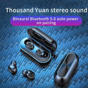 B5 Wireless Bluetooth 5.0 Earphone Touch Control Waterproof Stereo Headset With Charging Box For Phone