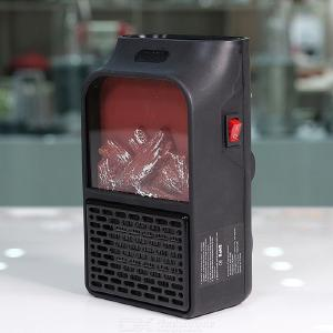 Mini Electric Fireplace Warmer 500W Portable Personal Heater For Small Heater W/1 PC Remoter