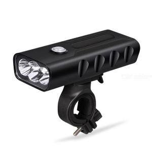 BX3 XML-T6 2800 Lumens 3 Mode Strong Light LED Bicycle Light USB Rechargeable Outdoor Waterproof Cycling Headlight