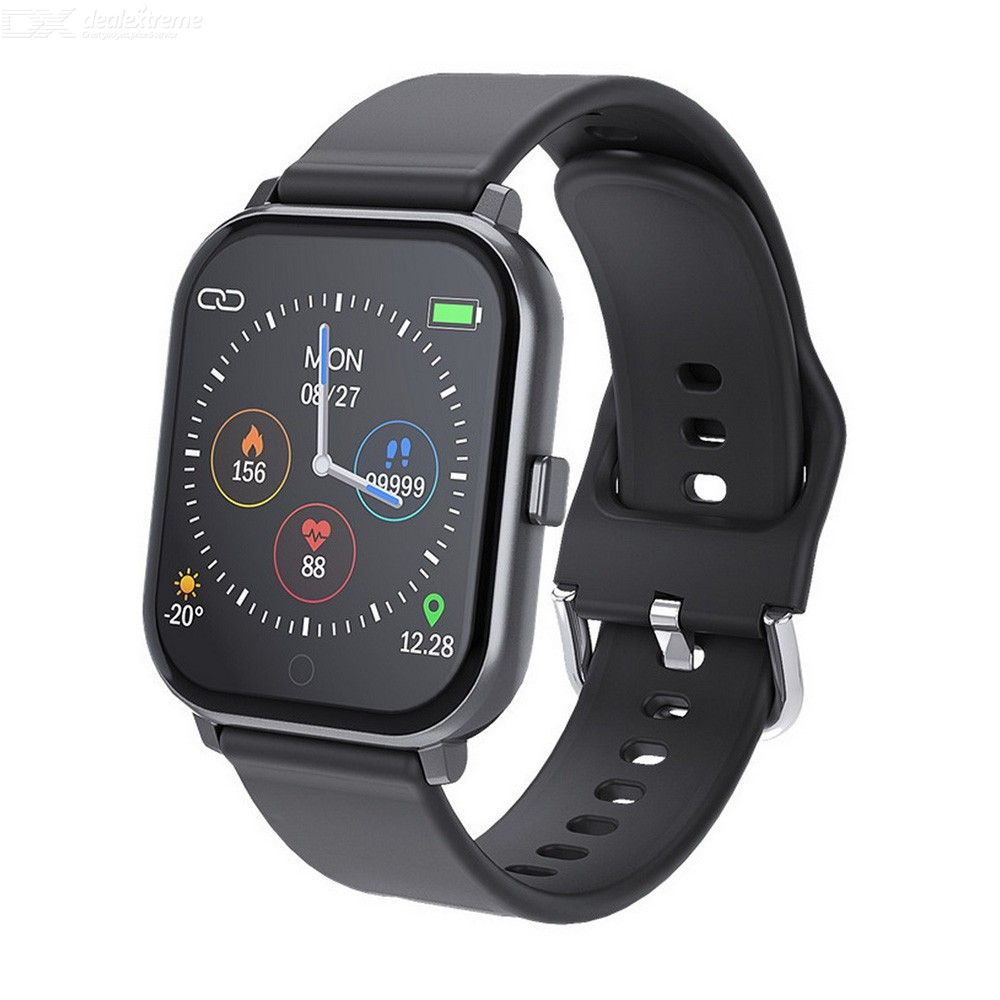 T55 Smart Bracelet Heart Rate Blood Pressure Monitor Waterproof Sports Smartwatch For Android IOS