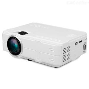 G812 LCD LED Projector 1500LM HD Home Theater LED Projector w/ USB, HDMI, VGA - US Charger