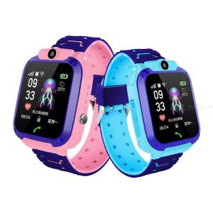 Q12 Kids Waterproof Smart Watch Phone With GPS Tracker SOS Emergency Call