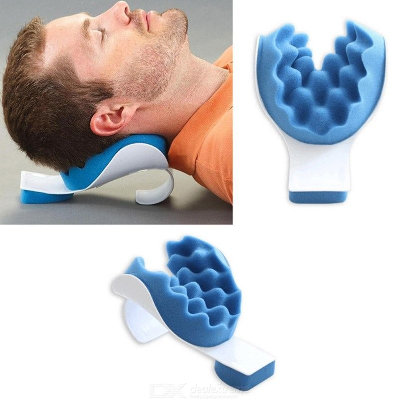 Portable Neck Relaxation Pillow Orthopedic Pain Relief Massage Tool