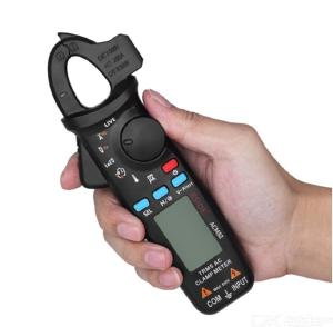 Bside ACM82 TRMS AC Meter with Pocket Clip Auto Range Current Frequency Temperature Tester