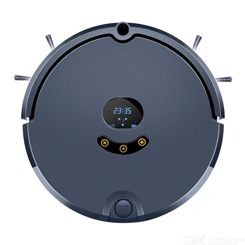 Home Auto Robot Vacuum Cleaner Smart App Control Self-charging Intelligent-routine Anti-Collision Timing For Carpet Floor