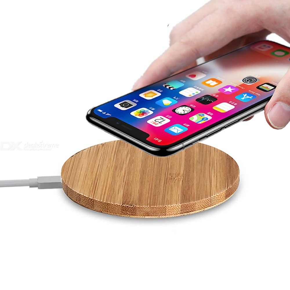 10W Qi Wireless Charger for IPhone 11 X XS Max 8 /Samsung Galaxy S10 / S9 / S8 Edge Plus/ Xiaomi and More
