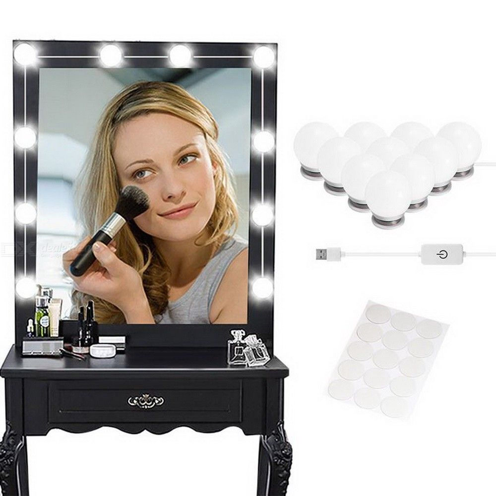 1PC Mirror Vanity Light Dimmable DIY Hollywood Lighted Makeup Light Bulb