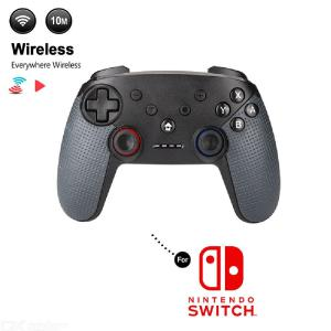 Wireless Controller Bluetooth Gamepad With Turbo Function For NS Switch