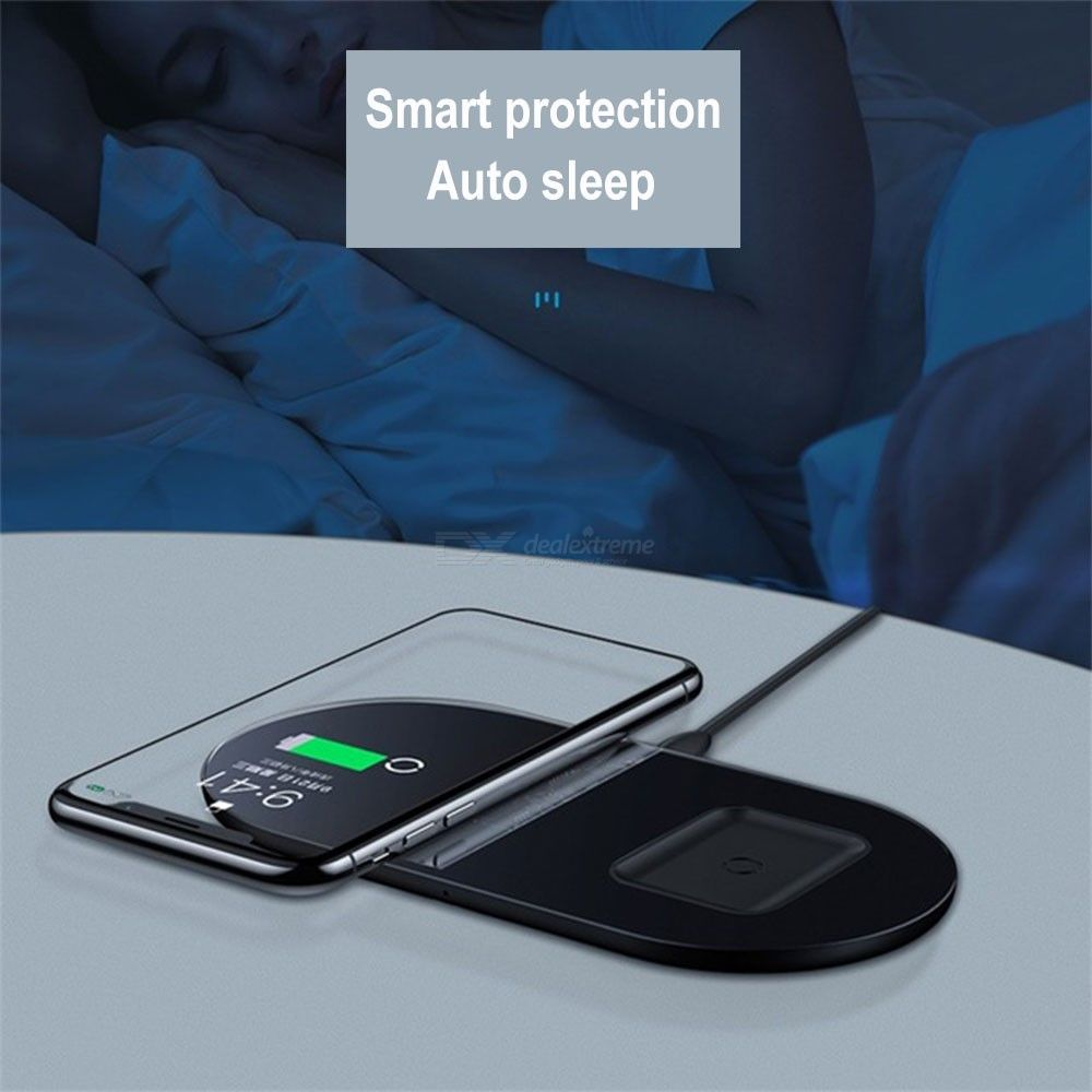 Wireless   Samsung   Charger   Galaxy   iPhone   Stand   Pad