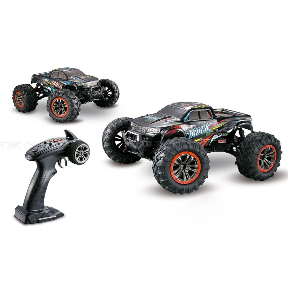 Large Size 1:10 Dual-motor RC Crawler 4WD High Speed 46km/h 2.4G Remote Control Off Road Monster Truck Car