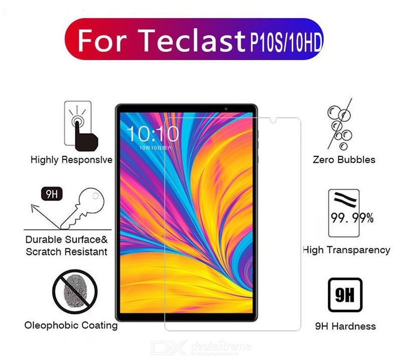 ASLING Scratch-proof Tempered Glass Screen Protector for Teclast P10S/P10HD