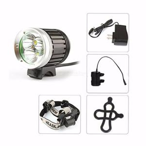ZHISHUNJIA Strong T6 LED Headight For Bicycle Mountain Off Road Biking Light with 18650 Battery - US Charger
