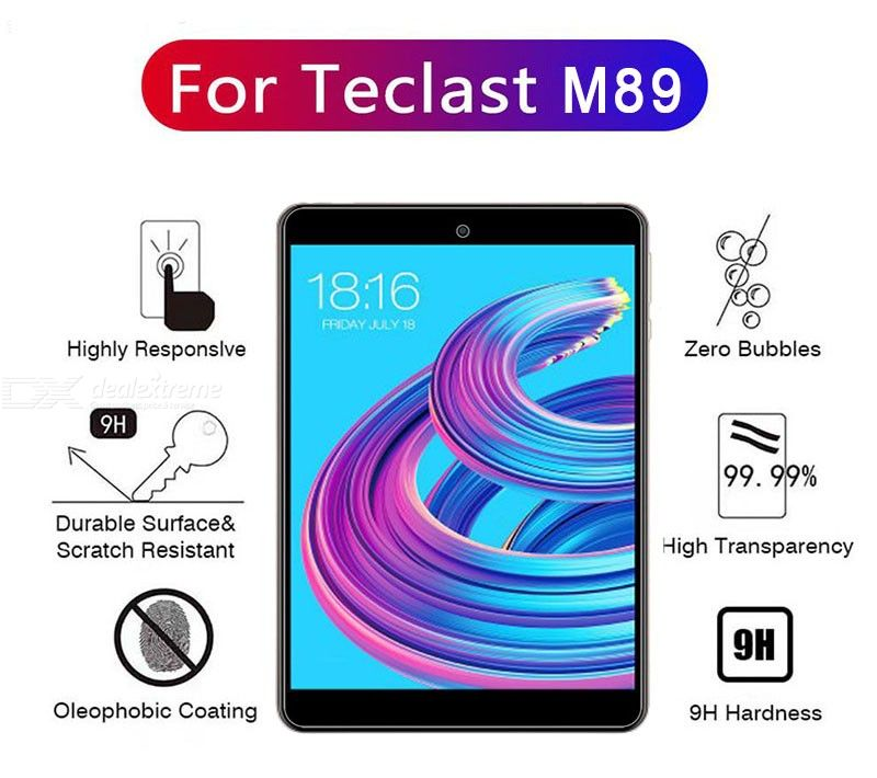 ASLING Scratch-proof Tempered Glass Screen Protector for Teclast M89