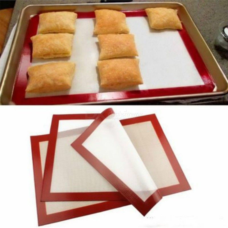 STOCK Non-Stick Silicone Baking Sheet Pastry Baking Silpat Kitchen Oven Mats 3021cm