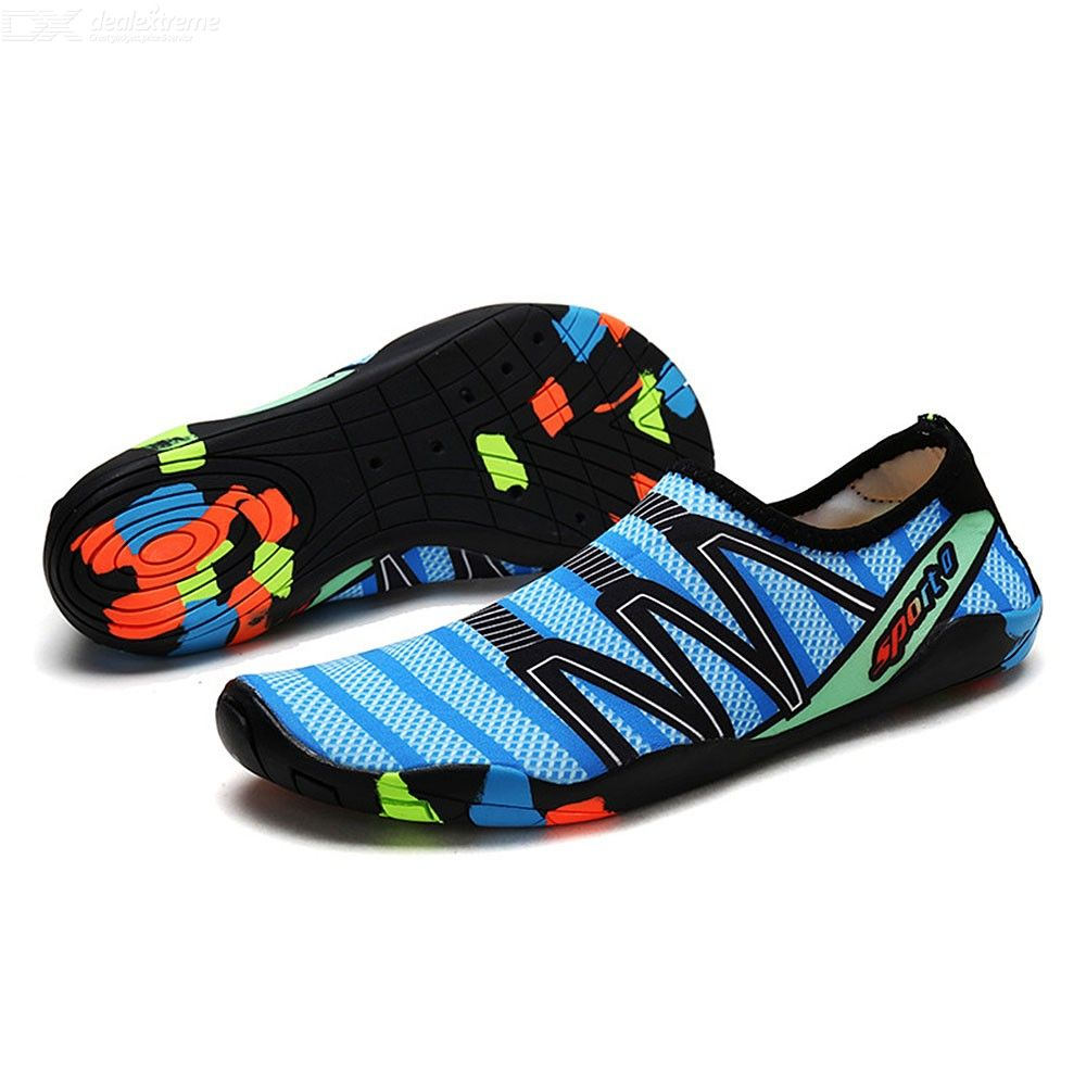 Unisex Adult Water Shoes Lightweight Couple Aqua Socks For Summer Beach Swimming Surfing Yoga Exercise