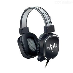 USB Wired Earphone Gaming Headphone Noise Cancelling Headset with Mic For PC