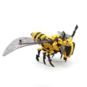 S703200 Simulated Bee Building Block DIY Animal Model Building Block Childrens Puzzle Toys