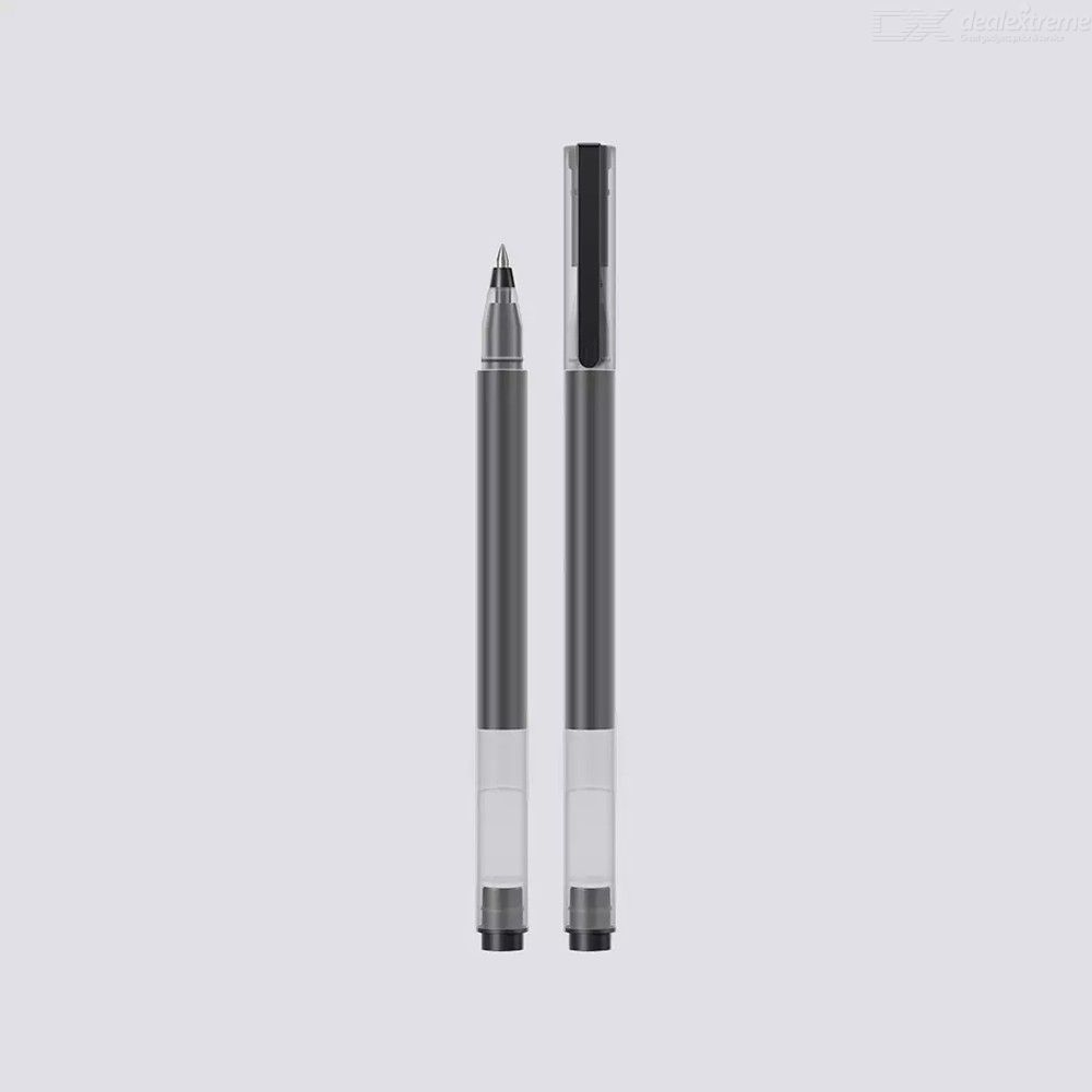 Xiaomi 10PCS Gel Ink Pens Set 0.5mm Bullet Nib Black Gel Ink Pens For Students Office School Supplies Stationery
