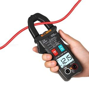 ANENG ST203 4000 Counts Full Automatic Range True RMS Digital Multimeter, AC/DC Voltage NCV Resistance Tester Clamp Meter
