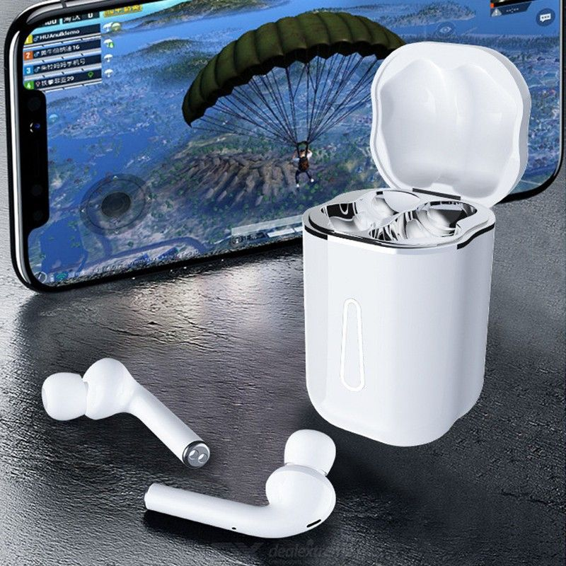 Wireless Bluetooth 5.0 Stereo Earphone Pop-up Touch Control Headset for Mobile Phone