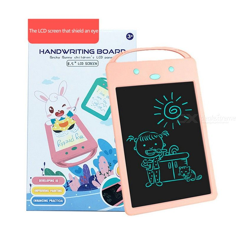 LCD Writing Tablet 8.5 Inch Color Electronic Drawing Board Educational Doodle Pads With Stylus For Kids Children School Home