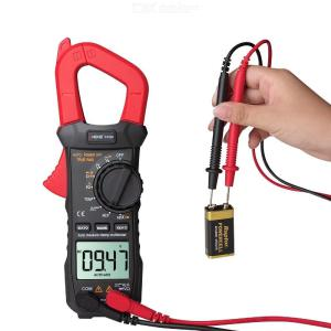 ANENG ST209 Digital Multimeter with LCD Display 6000 Counts True RMS Amp DC/AC Current Clamp Tester