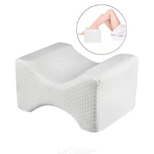 Orthopedic Memory Foam Knee Wedge Pillow for Sleeping Sciatica Back Hip Joint Pain Relief Contour Thigh Leg Pad Support Cushion