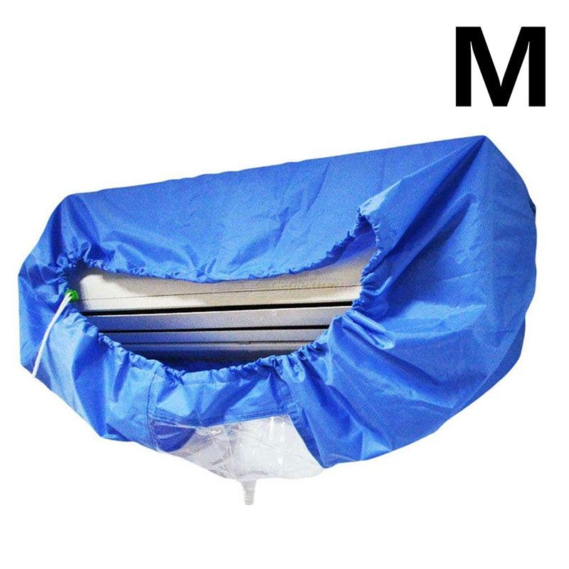 Air Conditioning Cover Washing Wall Mounted Air Conditioner Cleaning Protective Dust Cover Clean Tool Tightening belt for 1-1.5P