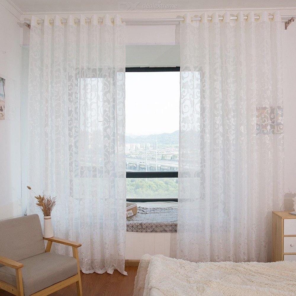 Tende Design Camera Da Letto.1pc European Style Jacquard Design Curtain Panel Modern Home