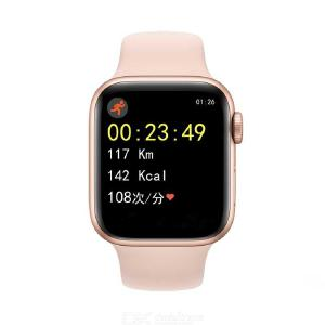 1.54 Inch Color Screen Smart Watch Silica Gel Strap Sports Wristband Heart Rate Monitor For Android IOS