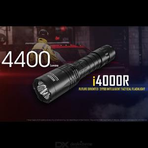 Original NITECORE I4000R 4400 Lumens Flashight with 21700 Rechargeable Battery