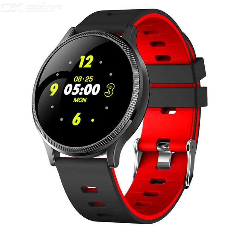 MK08 Color Screen Smart Bracelet Fitness Tracker IP67 Waterproof Blood Pressure Heart Rate Monitor For Android IOS