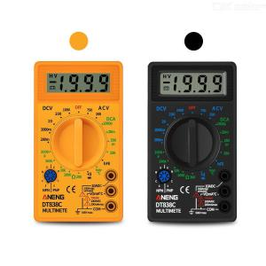 ANENG DT838C LCD Display Digital Multimeter AC / DC Voltage Current Diode Tester Electrical Instrument