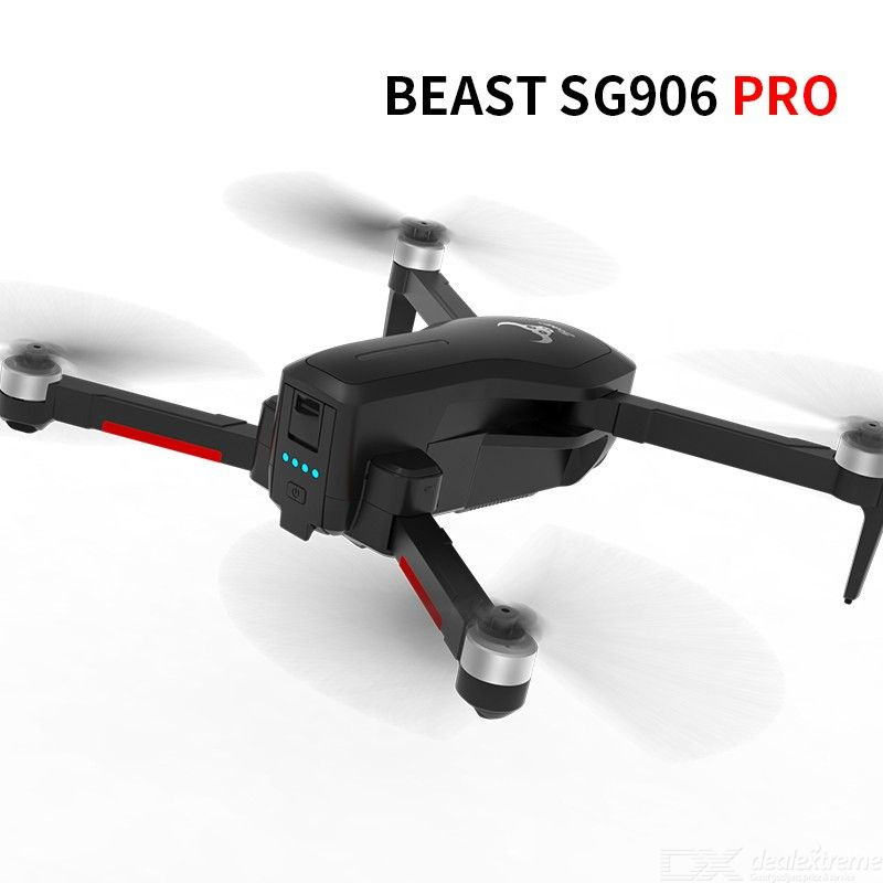 SG906PRO Self-Stabilizing Two-Axis PTZ Remote Control Aircraft 4K Aerial Four-Axis Aircraft Folding GPS Drone