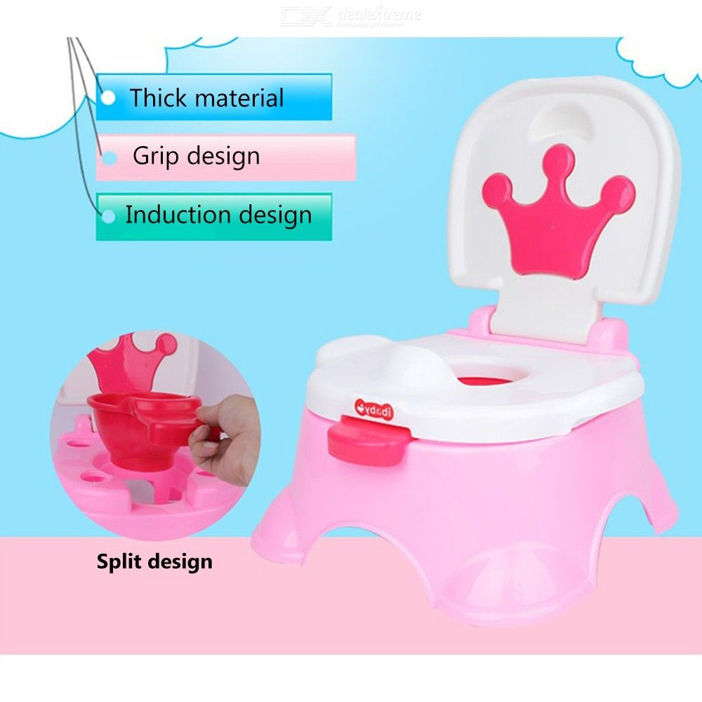 Portable Plastic 2-in-1 Infant Kids Baby Potty Seat