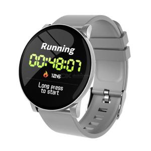 W8 Smart Sport Watch for Android IOS, Heart Rate Blood Pressure Monitor Bracelet Fitness Tracker - Silicone Strap