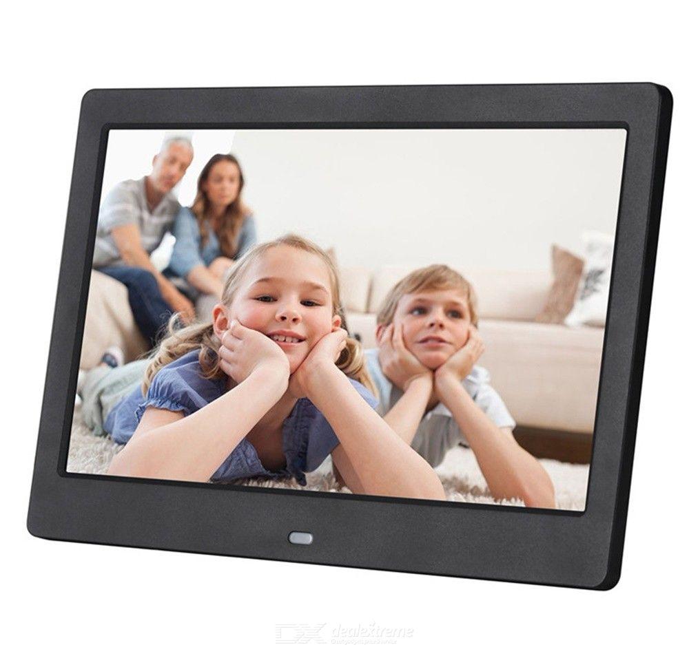 10 Inch LCD Smart Digital Photo Frame Picture Displayer With Remote Control