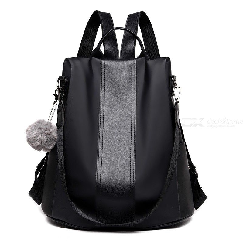 Casual Anti-Theft Women Backpack Large Capacity Nylon Shoulder Bag