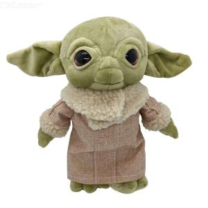 30cm Cute Funny Baby Yoda Plush Doll Stuffed Toy For Kids Adults