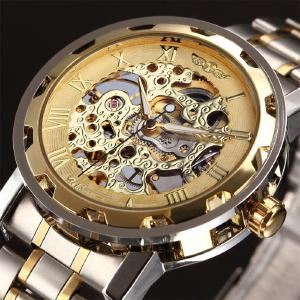 Retro Skeleton Mechanical Watch Men Automatic Watches Sport Luxury Top Brand Watch Relogio Masculino Male Clock