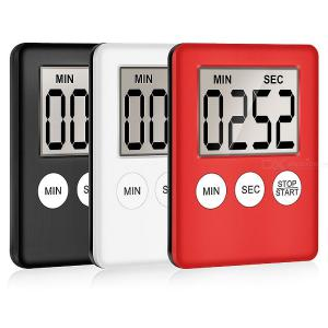 LCD Display Kitchen Timers For Baking Study Beauty Home Digital Time Counting Down Reminder - 100Min Maximum